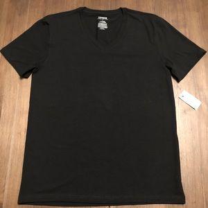 Express Stretch Deep V New w/tags 🏷 Size L Black